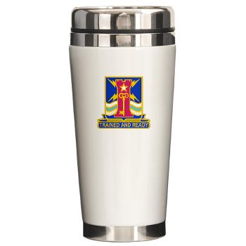 1ID4BCTSTB - M01 - 03 - DUI - 4th BCT - Special Troops Battalion - Ceramic Travel Mug