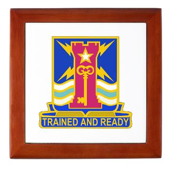 1ID4BCTSTB - M01 - 03 - DUI - 4th BCT - Special Troops Battalion - Keepsake Box