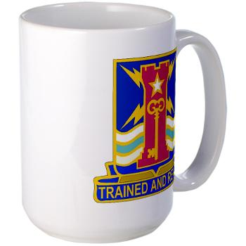 1ID4BCTSTB - M01 - 03 - DUI - 4th BCT - Special Troops Battalion - Large Mug