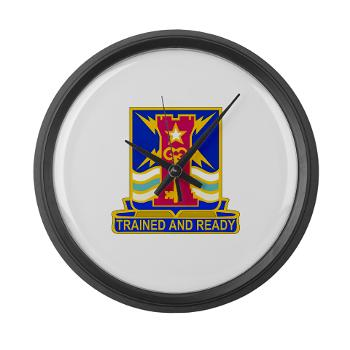 1ID4BCTSTB - M01 - 03 - DUI - 4th BCT - Special Troops Battalion - Large Wall Clock