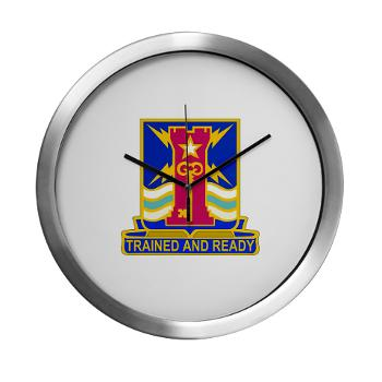 1ID4BCTSTB - M01 - 03 - DUI - 4th BCT - Special Troops Battalion - Modern Wall Clock