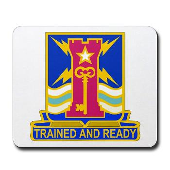 1ID4BCTSTB - M01 - 03 - DUI - 4th BCT - Special Troops Battalion - Mousepad