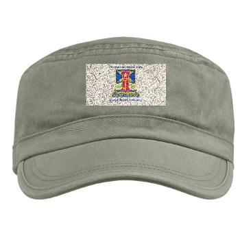 1ID4BCTSTB - A01 - 01 - DUI - 4th BCT - Special Troops Battalion with Text - Military Cap