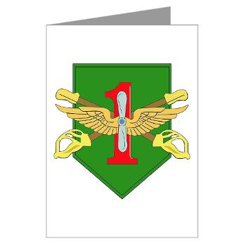 1IDHQHQC - M01 - 02 - DUI - HQ and HQ Coy - Greeting Cards (Pk of 10)