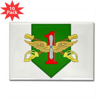 1IDHQHQC - M01 - 01 - DUI - HQ and HQ Coy - Rectangle Magnet (10 pack)