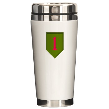 1IDSTB - M01 - 03 - DUI - Division - Special Troops Battalion Ceramic Travel Mug