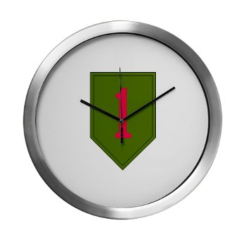 1IDSTB - M01 - 03 - DUI - Division - Special Troops Battalion Modern Wall Clock