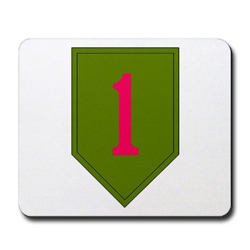 1IDSTB - M01 - 03 - DUI - Division - Special Troops Battalion Mousepad