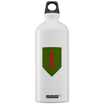 1IDSTB - M01 - 03 - DUI - Division - Special Troops Battalion Sigg Water Bottle 1.0L