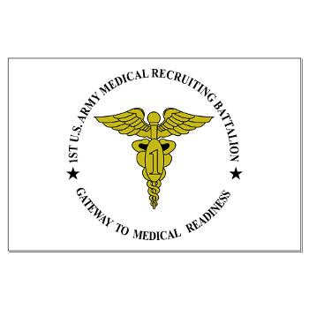1MRB - M01 - 02 - DUI - 1st Medical Recruiting Battalion (Patriots) - Large Poster
