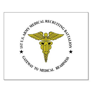 1MRB - M01 - 02 - DUI - 1st Medical Recruiting Battalion (Patriots) - Small Poster