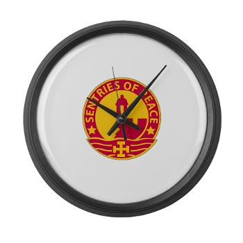 1MSC - M01 - 03 - DUI - 1st Mission Support Command - Large Wall Clock