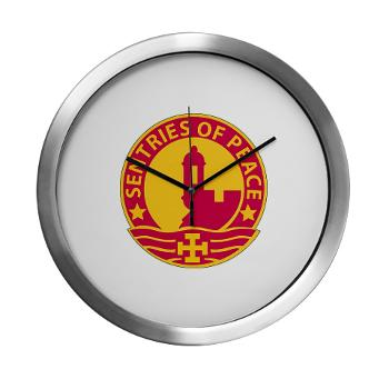 1MSC - M01 - 03 - DUI - 1st Mission Support Command - Modern Wall Clock
