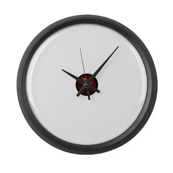 1RBBRB - M01 - 03 - DUI - Baltimore Recruiting Bn Large Wall Clock