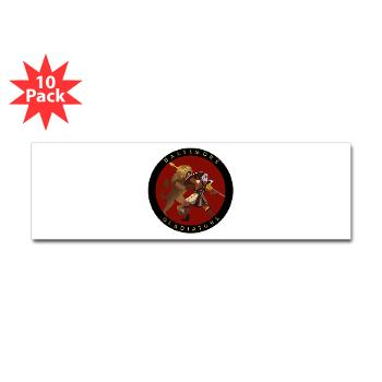 1RBBRB - M01 - 01 - DUI - Baltimore Recruiting Bn Sticker (Bumper 10 pk)