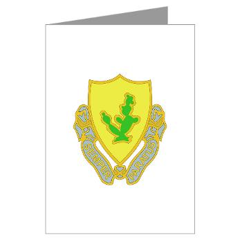 1S12CR - M01 - 02 - DUI - 1st Squadron - 12th Cavalry Regiment - Greeting Cards (Pk of 10)