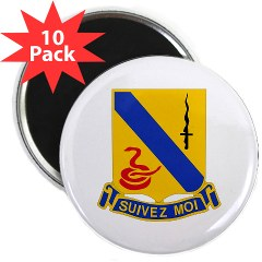 "1S14CR - M01 - 01 - DUI - 1st Sqdrn - 14th Cavalry Regt - 2.25"" Magnet (10 pack)"