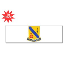 1S14CR - M01 - 01 - DUI - 1st Sqdrn - 14th Cavalry Regt - Sticker (Bumper 10 pk)