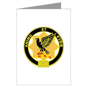 1S1CR - M01 - 02 - DUI - 1st Squadron - 1st Cavalry Regiment - Greeting Cards (Pk of 20)