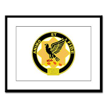 1S1CR - M01 - 02 - DUI - 1st Squadron - 1st Cavalry Regiment - Large Framed Print