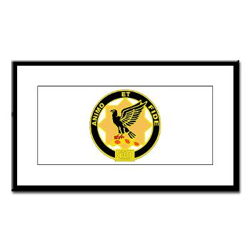 1S1CR - M01 - 02 - DUI - 1st Squadron - 1st Cavalry Regiment - Small Framed Print
