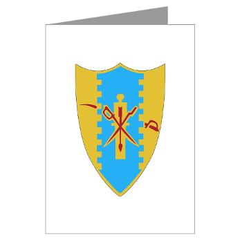 1S4CR - M01 - 02 - DUI - 1st Squadron - 4th Cavalry Regiment - Greeting Cards (Pk of 10)