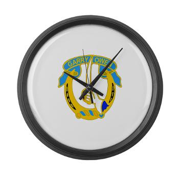 1S7CR - M01 - 03 - DUI - 1st Squadron - 7th Cavalry Regiment - Large Wall Clock