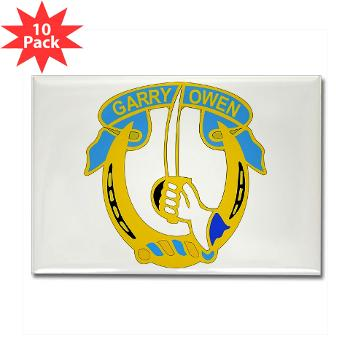 1S7CR - M01 - 01 - DUI - 1st Squadron - 7th Cavalry Regiment - Rectangle Magnet (10 pack)