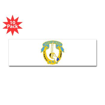 1S7CR - M01 - 01 - DUI - 1st Squadron - 7th Cavalry Regiment - Sticker (Bumper 10 pk)