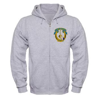 1S7CR - A01 - 03 - DUI - 1st Squadron - 7th Cavalry Regiment - Zip Hoodie