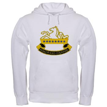 1S8CR - A01 - 03 - DUI - 1st Squadron - 8th Cavalry Regiment - Hooded Sweatshirt