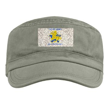 1S9CR - A01 - 01 - DUI - 1st Squadron - 9th Cavalry Regiment with Text - Military Cap