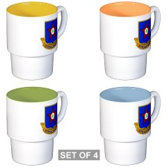 1s409rc - M01 - 03 - DUI - 1st Squadron - 409th Regiment (CAV)(TS) Stackable Mug Set (4 mugs)