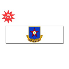 1s409rc - M01 - 01 - DUI - 1st Squadron - 409th Regiment (CAV)(TS) Sticker (Bumper 10 pk)