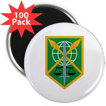 "200MPC - M01 - 01 - 200th Military Police Command - 2.25"" Magnet (100 pack)"