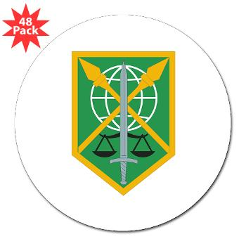 "200MPC - M01 - 01 - 200th Military Police Command - 3"" Lapel Sticker (48 pk)"