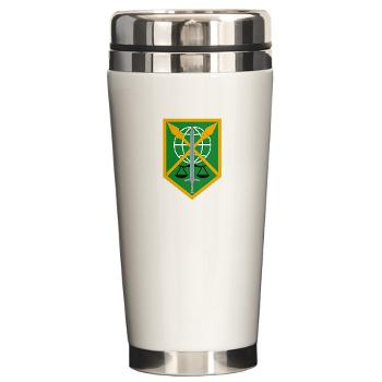 200MPC - M01 - 03 - 200th Military Police Command - Ceramic Travel Mug