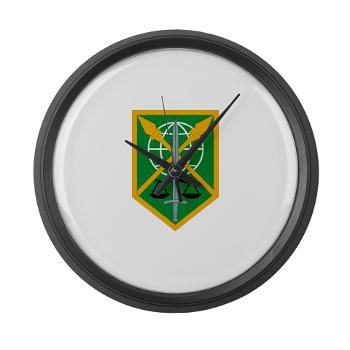 200MPC - M01 - 03 - 200th Military Police Command - Modern Wall Clock