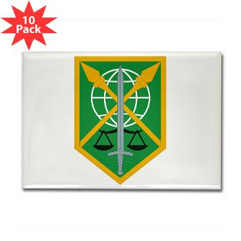 200MPC - M01 - 01 - 200th Military Police Command - Rectangle Magnet (10 pack)