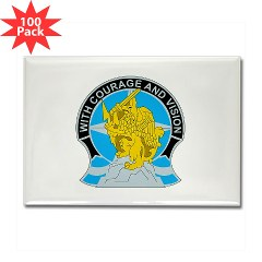 201BFSB - M01 - 01 - DUI - 201st Battlefield Surveillance Brigade Rectangle Magnet (100 pack)