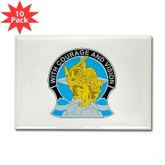 201BFSB - M01 - 01 - DUI - 201st Battlefield Surveillance Brigade Rectangle Magnet (10 pack)