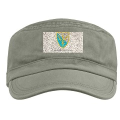 201BFSB - A01 - 01 - SSI - 201st Battlefield Surveillance Brigade with Text Military Cap