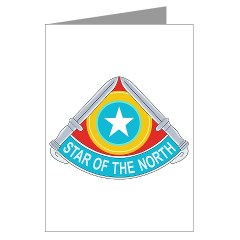 205IB - M01 - 02 - DUI - 205th Infantry Brigade Greeting Cards (Pk of 10)
