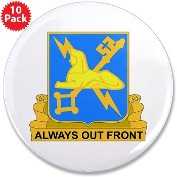 "209MIC - M01 - 01 - DUI - 209th Military Intelligence Coy - 3.5"" Button (10 pack)"