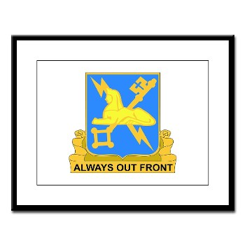 209MIC - M01 - 02 - DUI - 209th Military Intelligence Coy - Large Framed Print