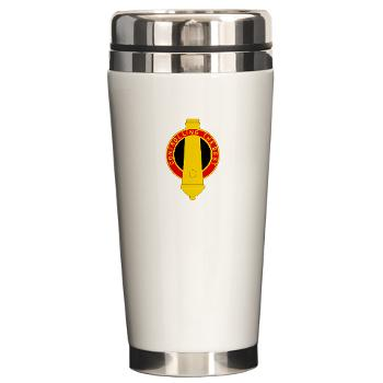 210FB - M01 - 03 - DUI - 210th Fires Bde Ceramic Travel Mug