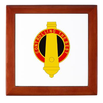 210FB - M01 - 03 - DUI - 210th Fires Bde Keepsake Box