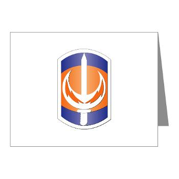 228SB - M01 - 02 - SSI - 228th Signal Brigade - Note Cards (Pk of 20)