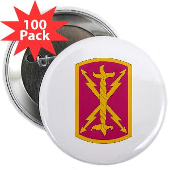 "256SC - M01 - 01 - DUI - 256th Signal Company - 2.25"" Button (100 pack)"