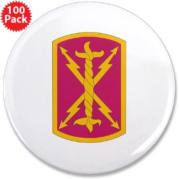 "256SC - M01 - 01 - DUI - 256th Signal Company - 3.5"" Button (100 pack)"